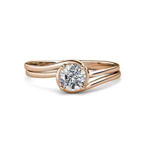 Jewelry - Solitaire round diamond Sparkling 1.75 ct